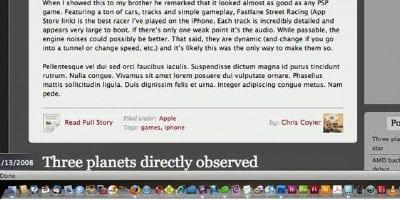 Méli-mélo de WordPress Tricks - capture d'écran.
