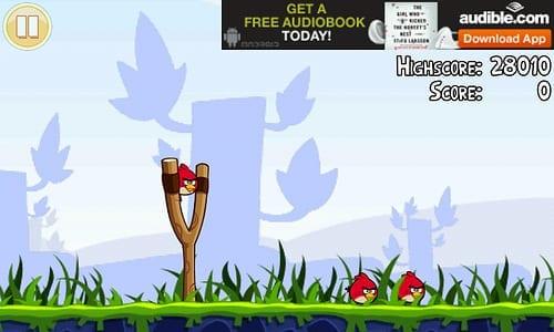 Publicité dans les jeux mobiles