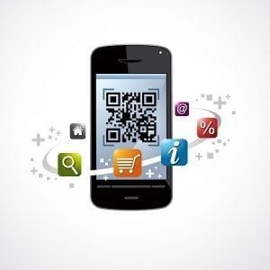 Application mobile QR Code