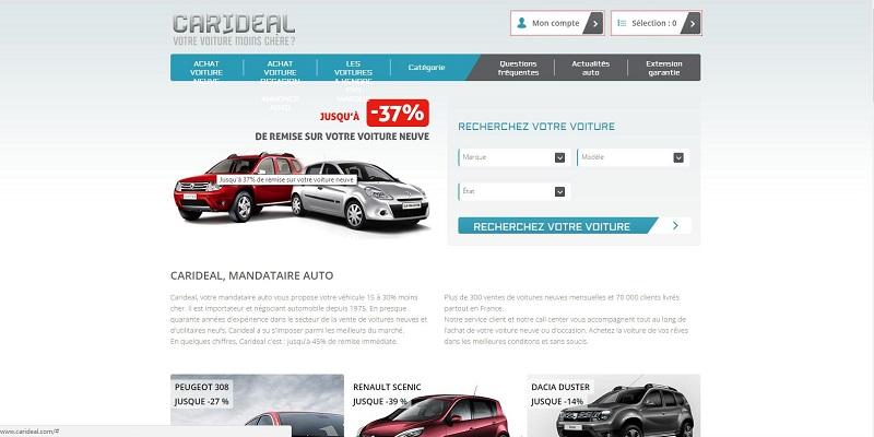 Création de site WEB automobile pour les concessions