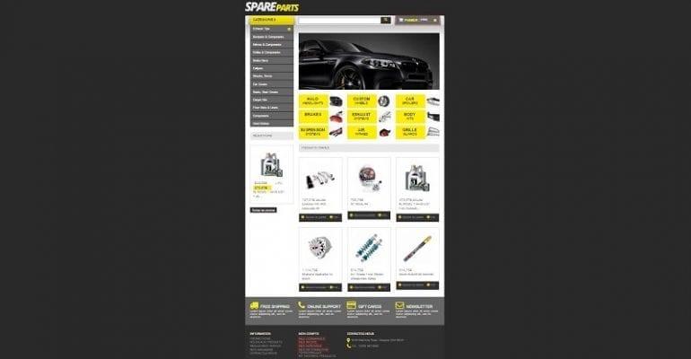 Création de site internet conseils pour les vendeurs de pièces automobiles