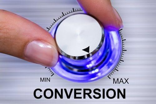 L'objectif de créer un site internet est l'augmentation des conversions