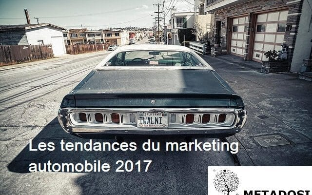 Les tendances du marketing automobile 2017