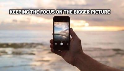 Rester concentré sur les choses les plus importantes