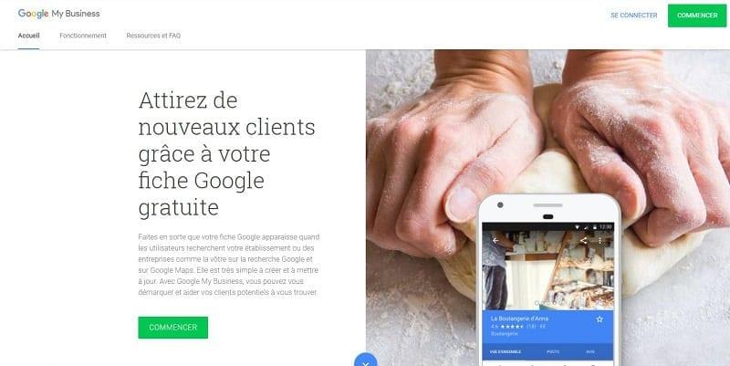 Optimisation de Google My Business parmi vos 9 Stratégies de marketing pour augmenter votre chiffre d'affaire