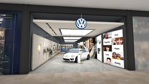 Volkswagen s'apprête à lancer son premier magasin de détail, sur un site du Bullring de Birmingham, afin de répondre aux besoins et aux exigences changeants des consommateurs.