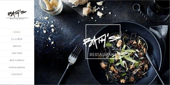 Image d'un site de restaurant: Bath à Clermont Ferrand