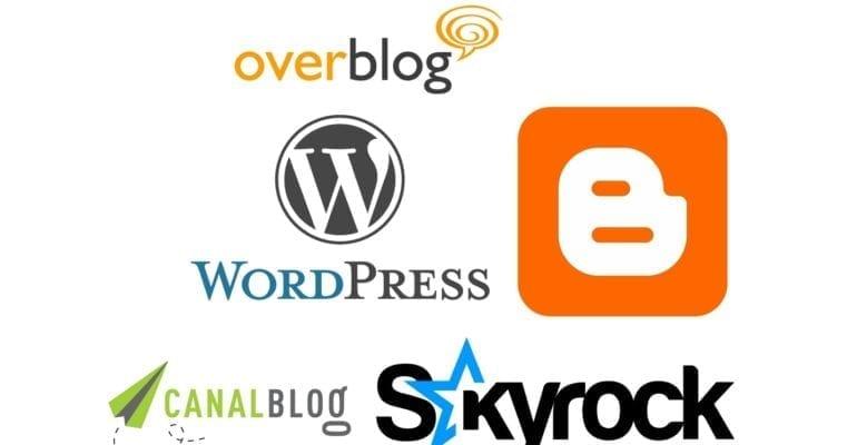 Top 10 des plateformes de blogs en ligne gratuits