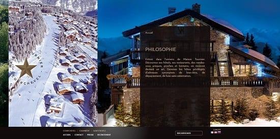 Image d'un site de restaurant: Cap Horn Courchevel