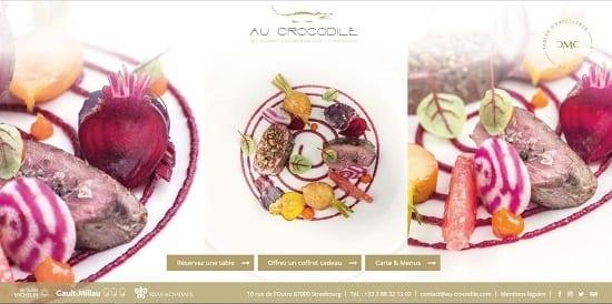 Image d'un site web du restaurant: Crocodile à Strasbourg