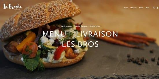 Image d'un site web du restaurant: La Broche Grill Lyon