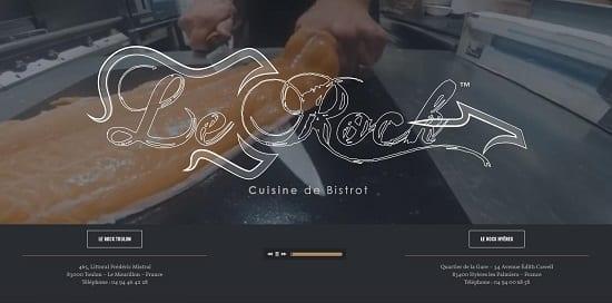 Image d'un site de restaurant: Le Rock Toulon