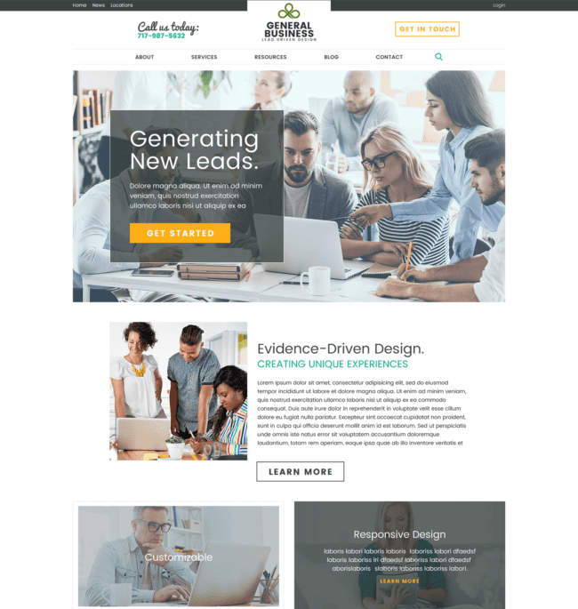 Rainmaker créer un site internet axé sur les résultats en 30 jours