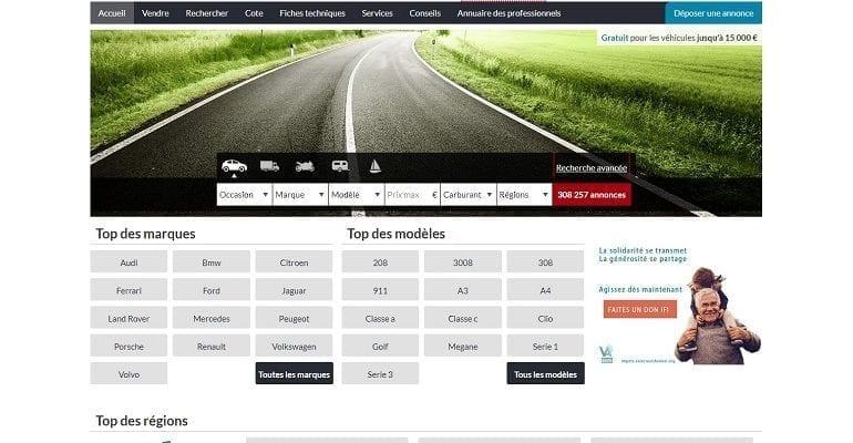 Les sites d'annonces automobiles (infomédiaires) se battent pour le leadership de la présence en ligne au détriment des concessionnaires