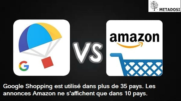 Une comparaison entre la portée de Google Shopping et Amazon