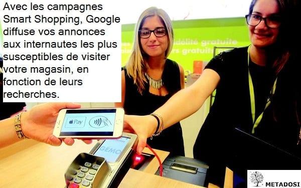 La conception des campagnes Google Smart Shopping