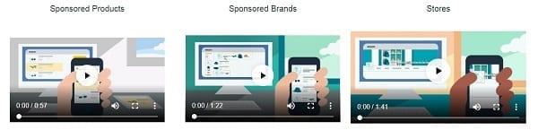 L'apparence des publicités d'Amazon