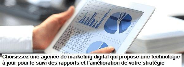 Choisissez une agence de marketing digital avec un logiciel éprouvé