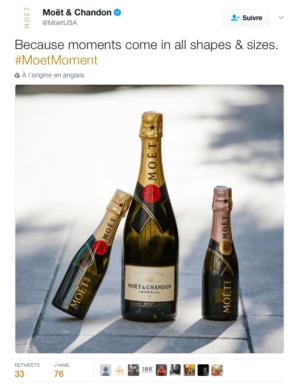 Marketing digital pour les marques de luxe : aussi pour le champagne