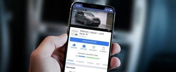 Facebook bat Twitter pour engager les clients pour les concessionnaires