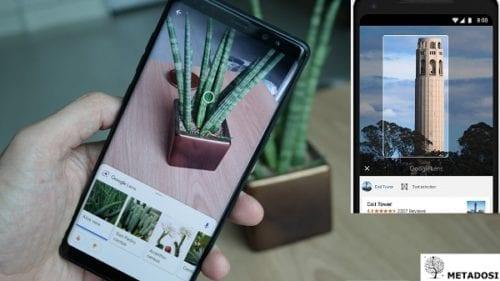 Une série d'exemples pour Google Lens