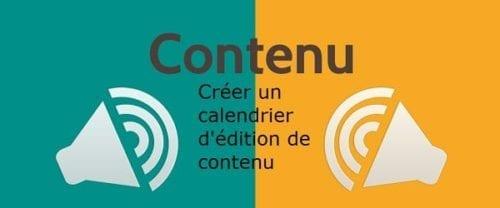 Calendrier éditorial de blog