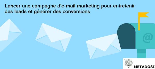 Le rôle de l'email marketing pour générer des leads