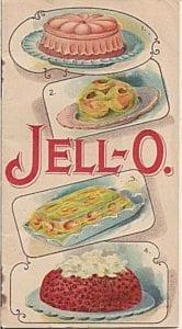Livre de recettes Jell-O