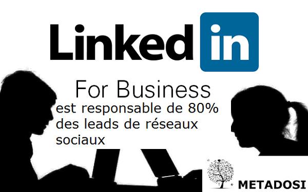 LinkedIn en tant que stratégie de génération de leads