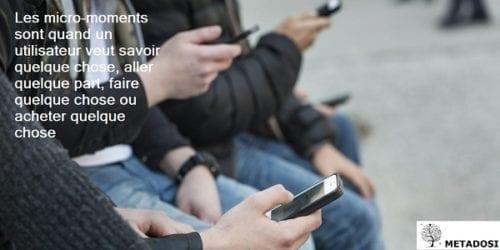 Une définition des micro-moments, une tendance de marketing digital pour 2019