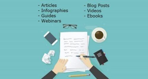 Types de marketing de contenu