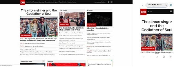 CNN VersionDesktop Version CNN Mobile