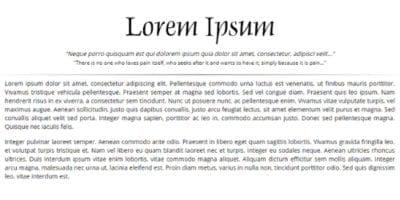 Texte Lorem Ipsum