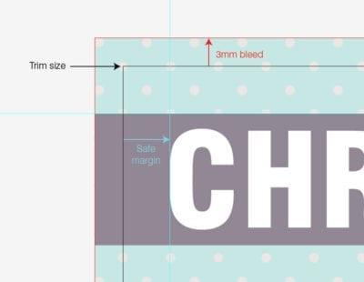 Marge d'une page dans la création graphique