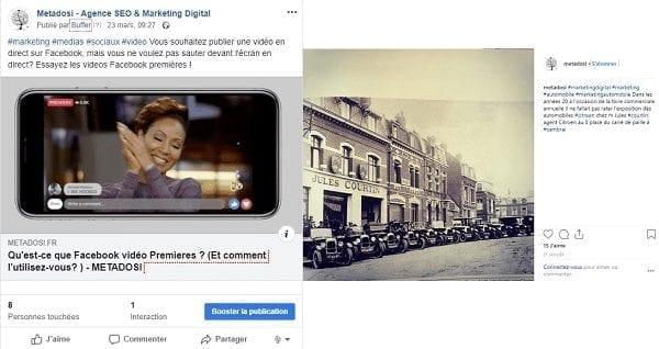Un exemple de marketing digital personnalisé de Metadosi