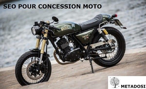 SEO pour concessionnaire moto
