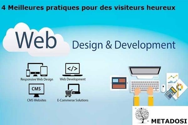 4 meilleures pratiques de développement de site Web pour garantir des visiteurs heureux