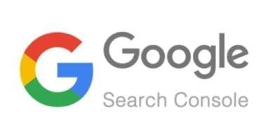 capture d'écran de la Google Search Console