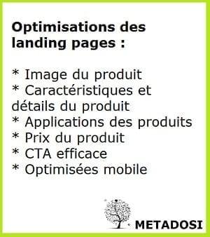 Optimisation des landing pages pour les réseaux sociaux