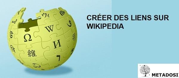 Comment créer des liens sur Wikipedia
