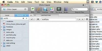 Concevoir pour WordPress - capture d'écran.