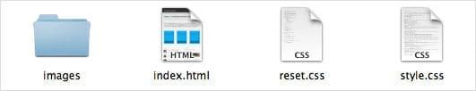 Création de la structure de fichier