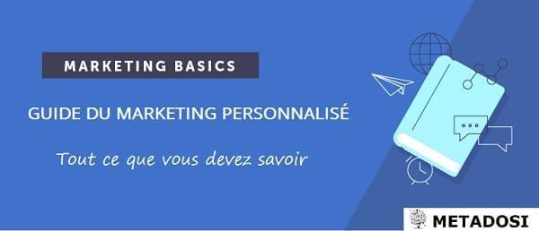 Introduction au marketing personnalisé