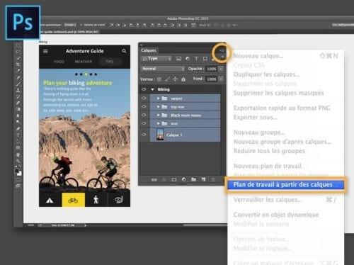 Faire une mise en page Web de blog élégante et simple en utilisant Photoshop