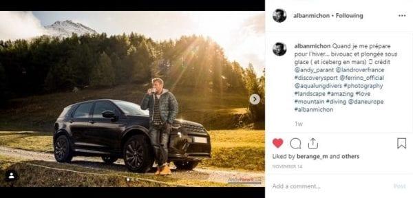 Marketing d'influence pour concession automobile