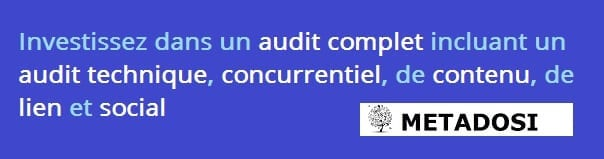 Une déclaration sur les meilleurs audits SEO à considérer