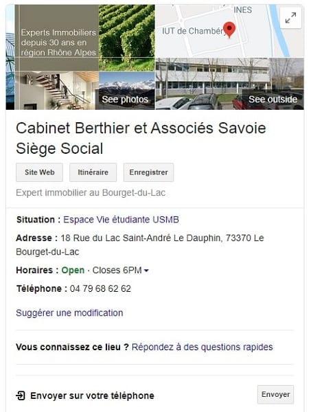 Berthier expertise