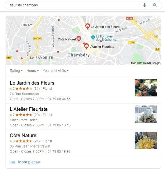 pack local 3 de google