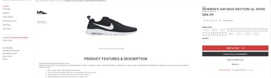 caractéristiques et description des chaussures de tennis