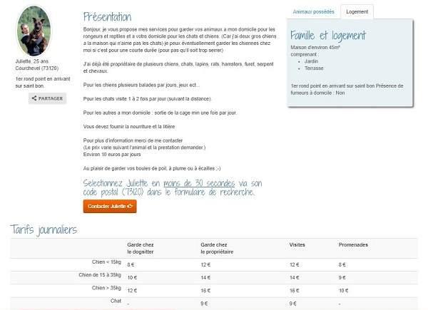 Exemple de contenu pour le SEO on page
